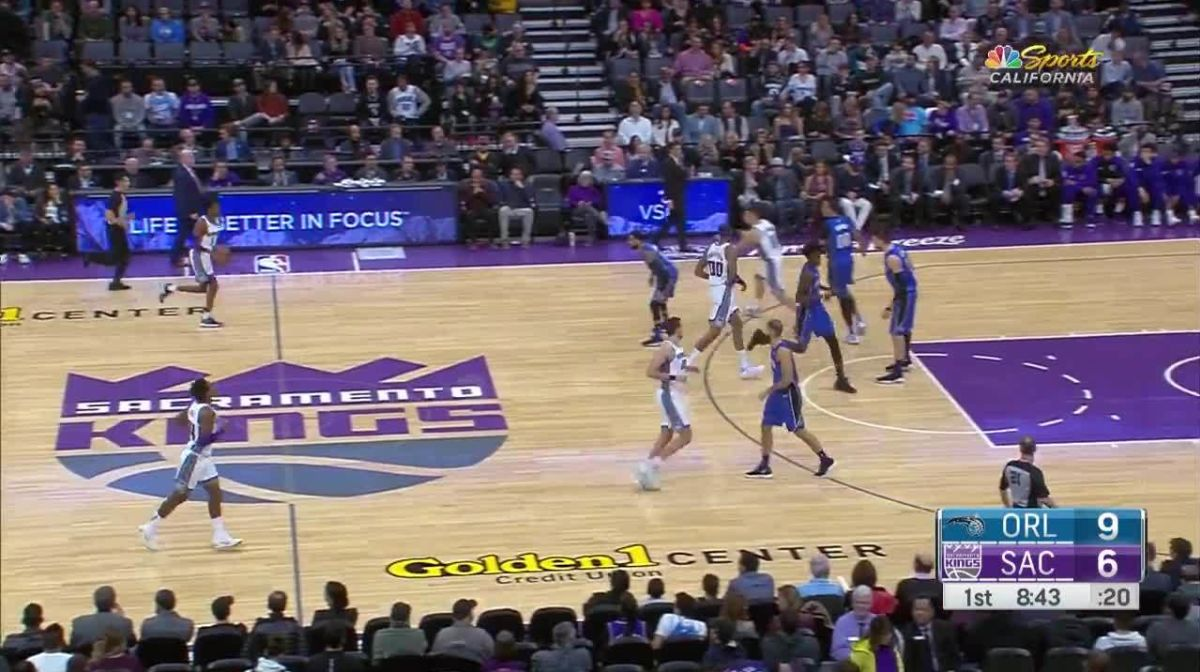 Dunk By Willie Cauley Stein In The First Quarter Nba Com