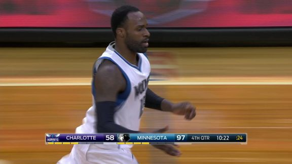 Dunn Feeds Shabazz Muhammad for Dunk