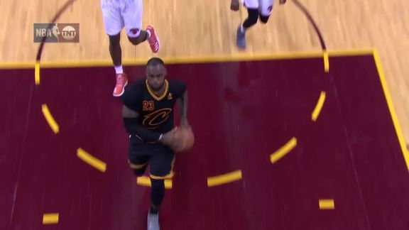 LeBron James' Big Night