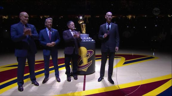 The Cleveland Cavaliers Ring Ceremony