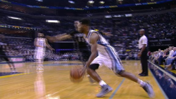 Andrew Harrison Impressive Lay-in