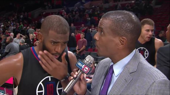 Chris Paul Talks about Clippers