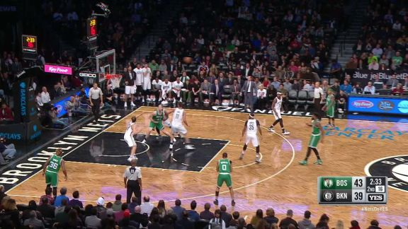 Booker Breaks Out the Euro Step