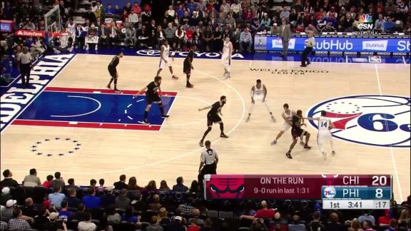 Thompson with the Reverse