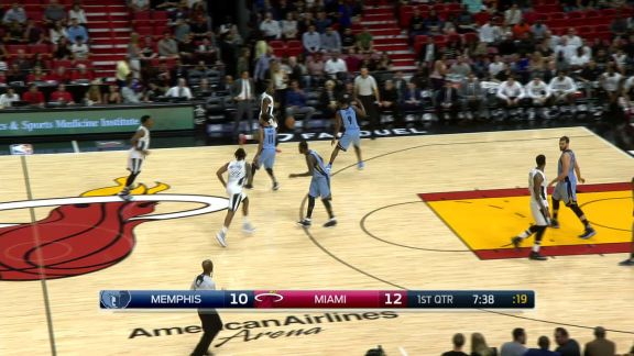 Waiters Drives for Two