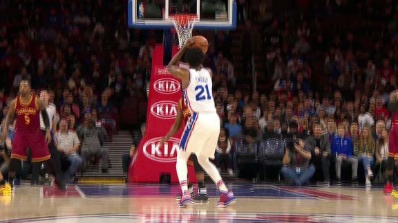 Embiid From Downtown