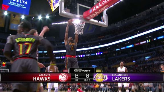Howard Gets Two-Handed Jam