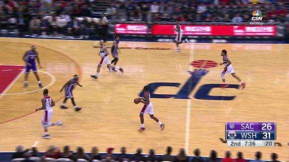 Oubre Throws it Down
