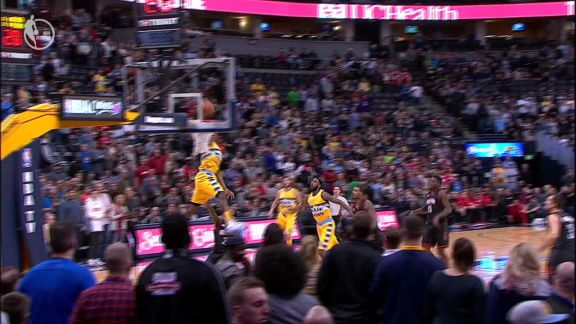 Faried's Emphatic Alley-Oop