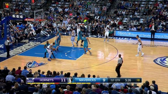 Powell Flushes the Alley-Oop With Authority
