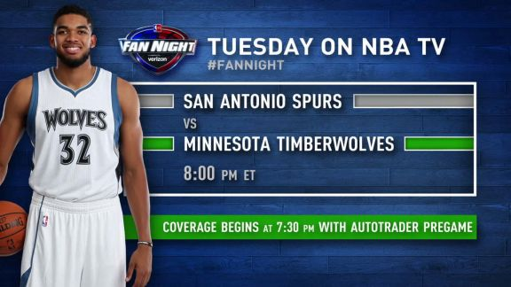 Fan Night Preview: Spurs-Timberwolves