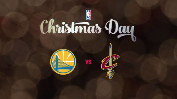 Christmas Day Preview: Warriors vs. Cavaliers