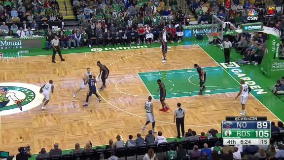 Rozier's Tough Tip-In