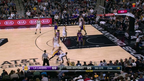 Gasol Delivers a Poster