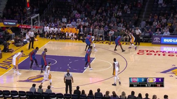 Randle Throws it Down