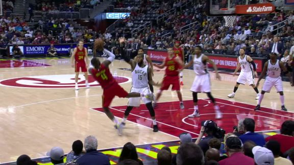 Millsap's Tough And-One
