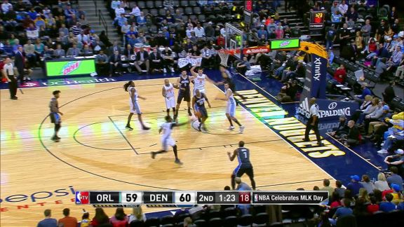 Faried Alley-Oop from Mudiay