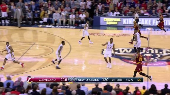 Galloway's Crucial Steal