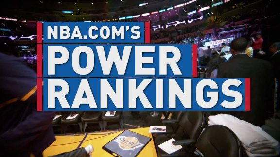 NBA.com's Power Rankings
