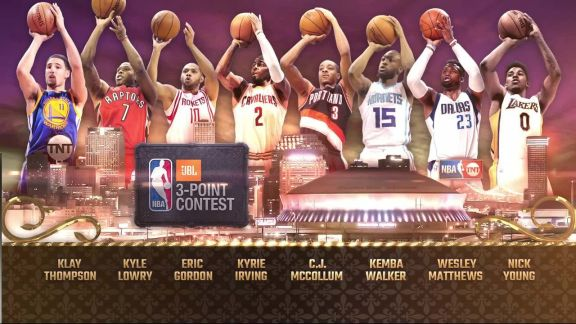 Inside the NBA: 3-pt Contest Shooters