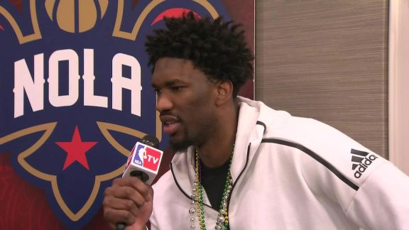 Embiid Talks with Hang Time Crew