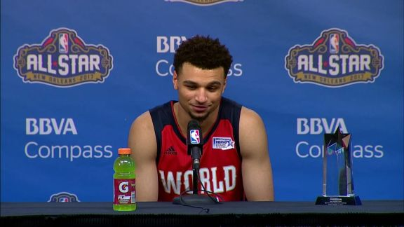 Murray Talks About His MVP Performance