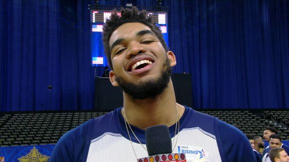 Towns Talks Rising Stars Challenge
