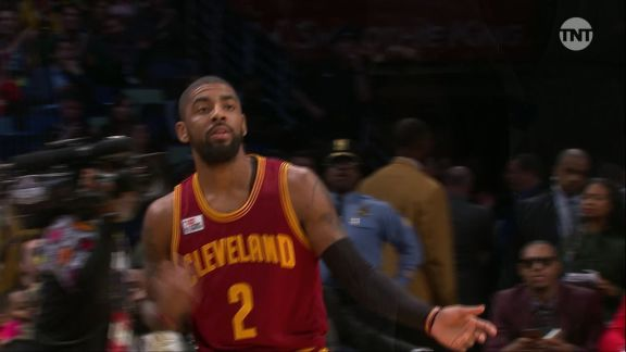 2017 JBL Three-Point Contest: Kyrie Irving, Round 2