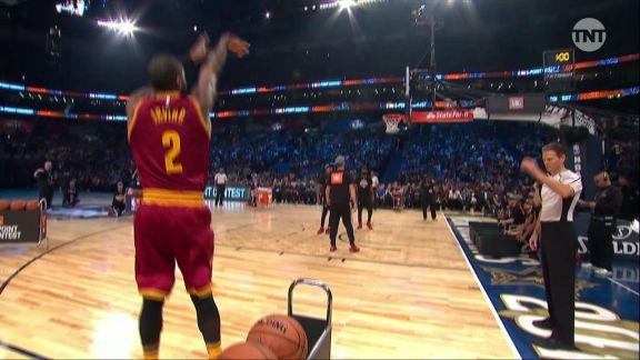 2017 JBL Three-Point Contest: Kyrie Irving, Round 1
