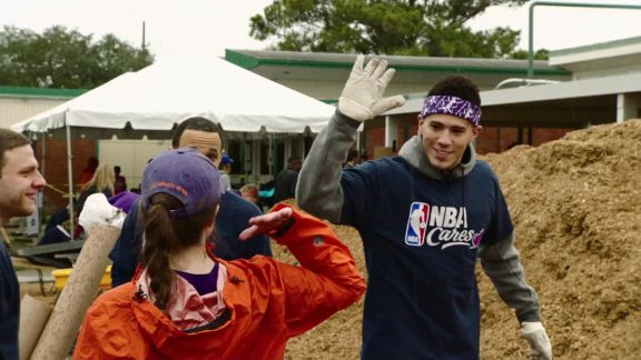 GameTime: NBA Cares Day of Service in New Orleans