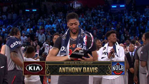 Davis Wins MVP With Record Performance