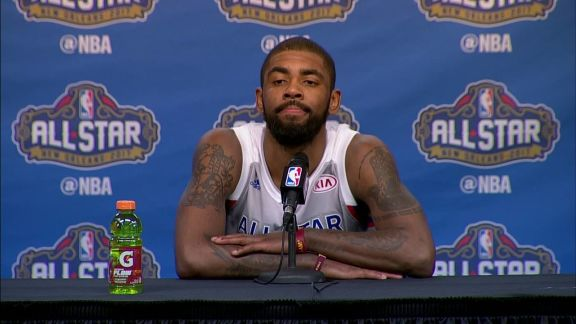 2017 All-Star Game: Kyrie Postgame Presser