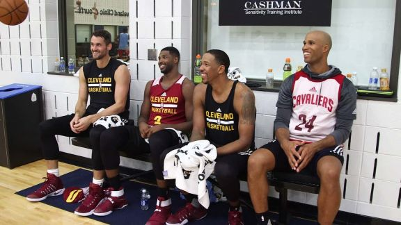 Channing Frye and Richard Jefferson's Special Bond