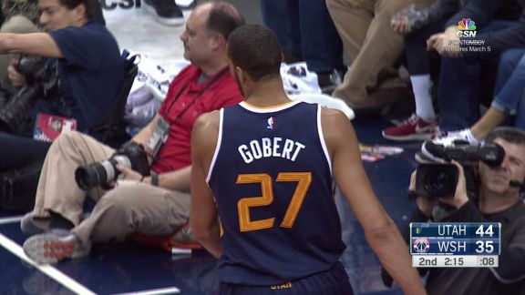 Gobert with the Rejection