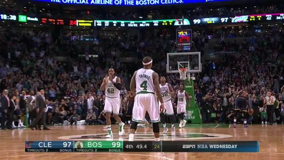 Isaiah Thomas Erupts for 31