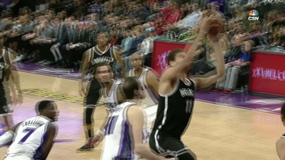 Brook Lopez Reaches 10,000 Career Points