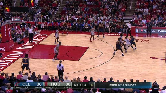 Harden's Steal and Layup