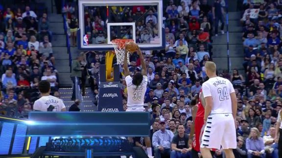 Kenneth Faried Jam