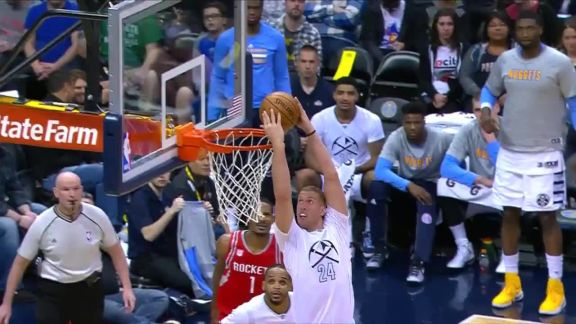 Mason Plumlee Dunks It Reverse Style