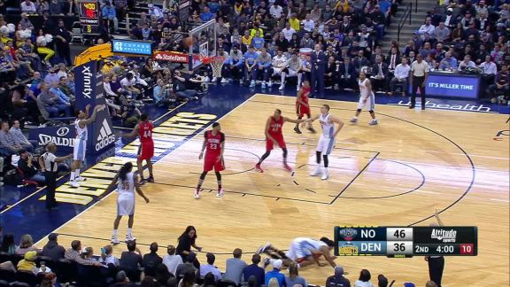Frazier Steal And Layup