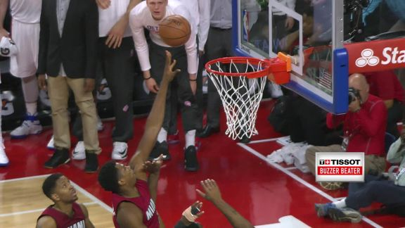 Tissot Buzzer Beater: Whiteside Wins it for the Heat