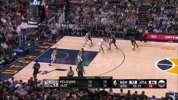 Ajinca With The And-1