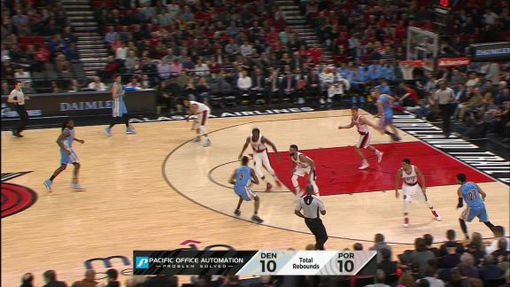 Kennth Faried Follows the Miss