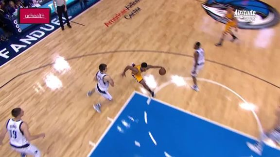 Gary Harris Crossover and Finish
