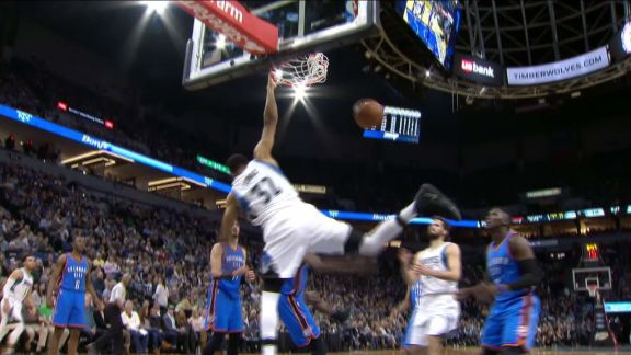 Towns Delivers A Poster