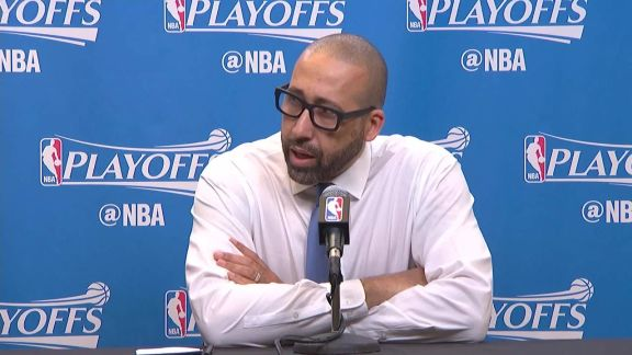 Round 1, Game 2: Coach Fizdale & Mike Conley postgame