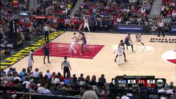 Millsap Takes It to the Hole
