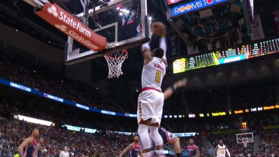 Millsap's Oop to Howard