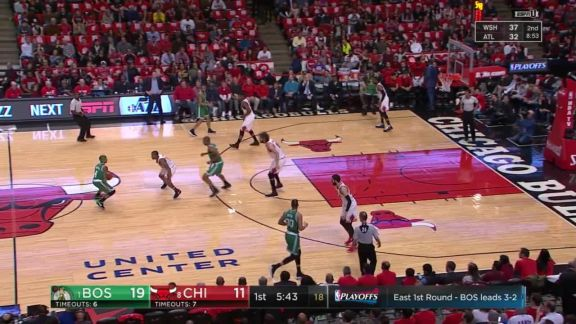 Horford Drives and Dunks