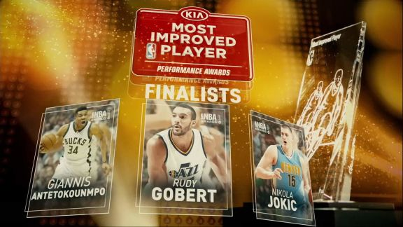 2017 NBA Awards: Most Improved Player Finalists